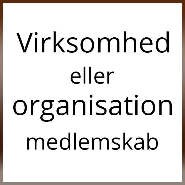 Virksomhed Eller Organisation Medlemskab