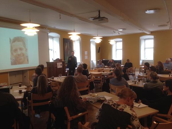 Linus Alverbrändt - Dissemination Conference for Erasmus+ Project SEBSR 20th May 2016 in Copenhagen