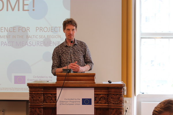 Per Bach - Dissemination Conference for Erasmus+ Project SEBSR 20th May 2016 in Copenhagen