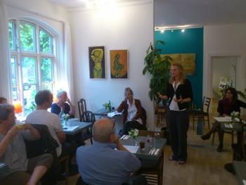 Café og Netværksmøde 21.6. 2013