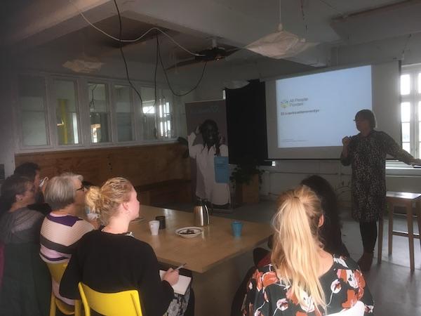 Sociale iværksættereventyr med Connie Hasemann 4.10.2018