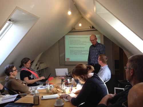 Få business i din sociale ide - SED arrangement med Mogens Thomsen 19.5. 2015