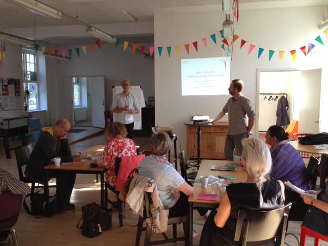 Café og netværksmøde for socialøkonomiske virksomheder i København 16.9.2014