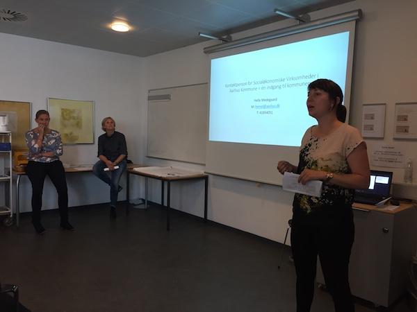Hanne Kabel - Netværksmøde for socialøkonomiske virksomheder i Aarhus og Region Midt