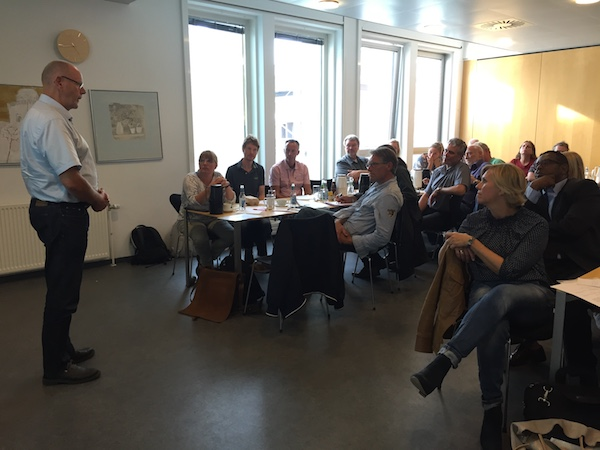 Hans Halvorsen - Netværksmøde for socialøkonomiske virksomheder i Aarhus og Region Midt
