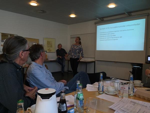 Helle Medegaard - Netværksmøde for socialøkonomiske virksomheder i Aarhus og Region Midt
