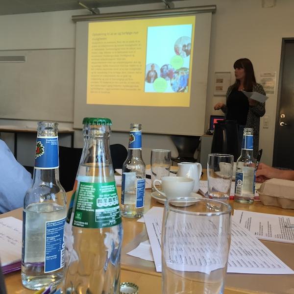 Katrine Knudsen- Netværksmøde for socialøkonomiske virksomheder og sociale iværksættere i Aarhus og Region Midt 27.9.2016
