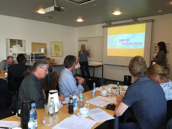 Pia Stabel Hjort og Katrine Knudsen- Netværksmøde for socialøkonomiske virksomheder og sociale iværksættere i Aarhus og Region Midt 27.9.2016