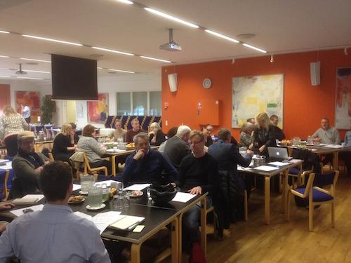 SED Netværksmøde i Aarhus d. 3.3. 2016