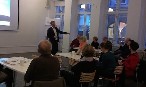 Netværksmøde for socialøkonomiske virksomheder i København d. 10. november 2014.