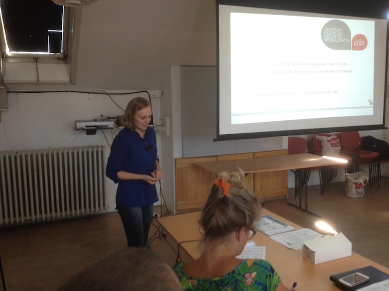 Anna Cebula - Roundtable on Social Enterprises in The Baltic Sea Region
