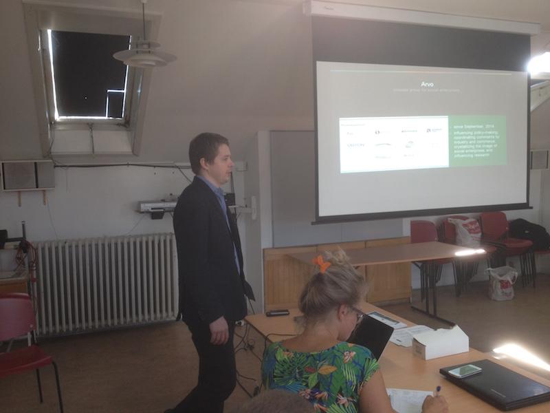 Iiro Niemi - Roundtable Meeting on Social Enterprises in The Baltic Sea Region