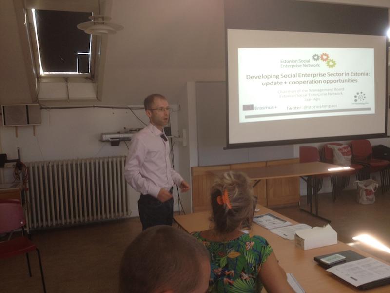 Jaan Aps - Roundtable Meeting on Social Enterprises in The Baltic Sea Region