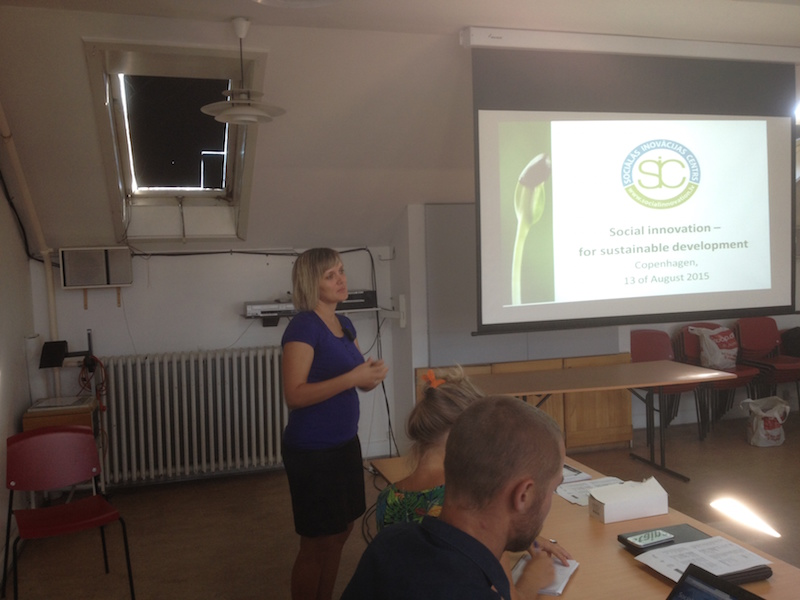 Renate Lukjanska - Roundtable Meeting on Social Enterprises in The Baltic Sea Region