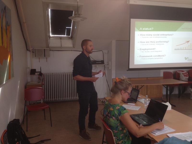 Ulrik Boe Kjeldsen - Roundtable Meeting on Social Enterprises in The Baltic Sea Region