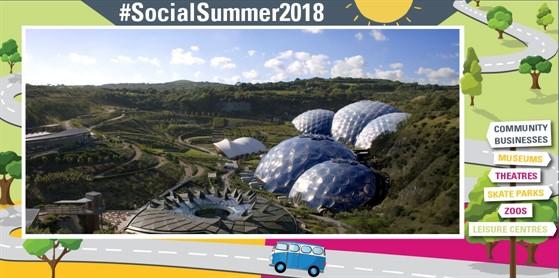 Social Sommer – Engelsk Sommerkampagne