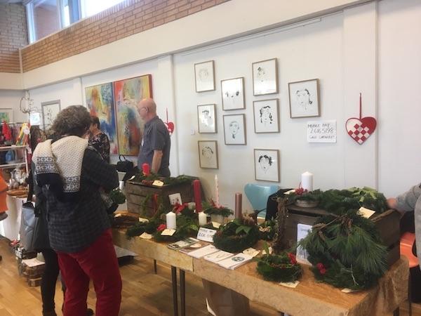 Socialøkonomisk Julemarked 3.12. 2016 i Aarhus