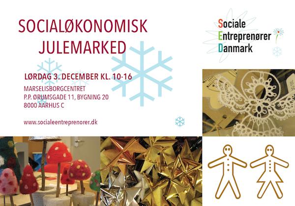 SOcialøkonomisk Julemarked d. 3. december 2016 i Aarhus