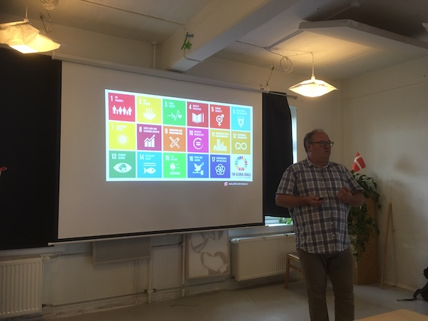 Wise Up event om FNs Verdensmål 13.9. 2017