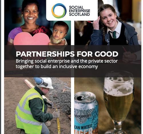 Booklet Om Om Partnerskaber Mellem Traditionelle- Og Socialøkonomiske Virksomheder I Skotland