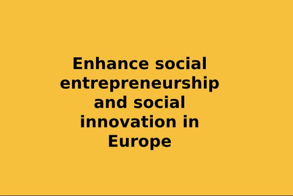 Fælles Politisk Erklæring Fra 25 Europæiske Netværk For Socialøkonomiske Virksomheder