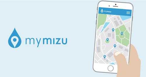 MyMizu – Ny Japansk App Viser Hvor Man Kan Genfylde Sin Vandflaske