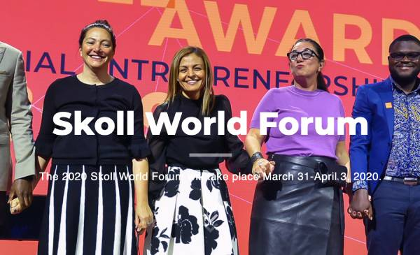 Skoll World Forum 2020 Kalder Til Handling