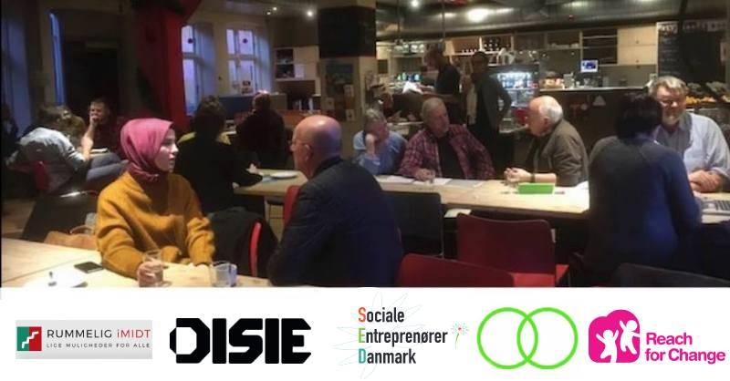 Online: Få Vejledningaf Fagpersoner – For Sociale Iværksættere 10.6.2021