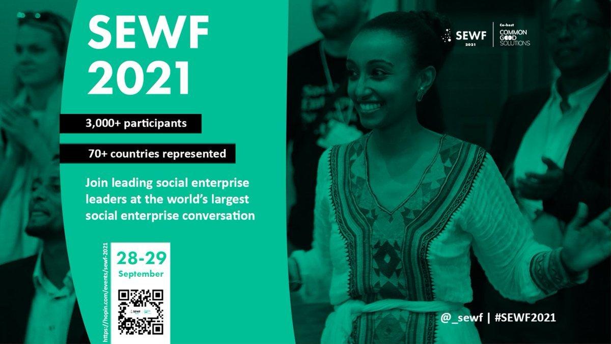 Social Enterprise World Forum 2021 + Dansk Event – 28.-29. September 2021